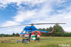 подготовка вертолета